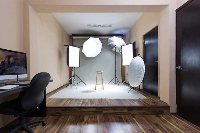 fotografía de estudio