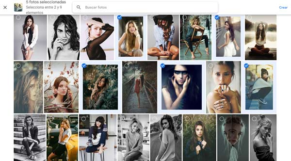 editor collage para fotos PC