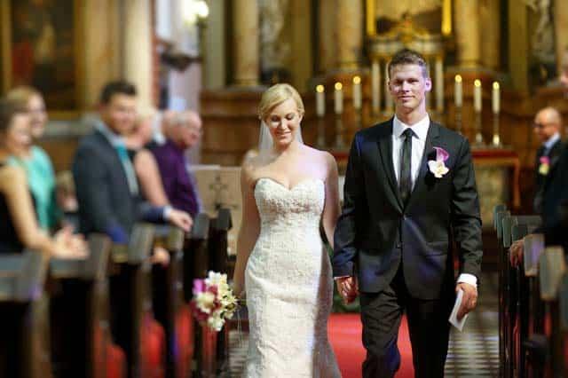 Fotografía de boda en la iglesia