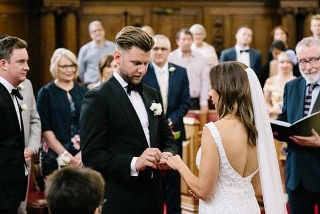 foto de boda en iglesia