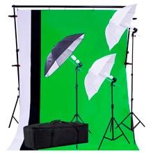 Luz continua kit de iluminación con paraguas