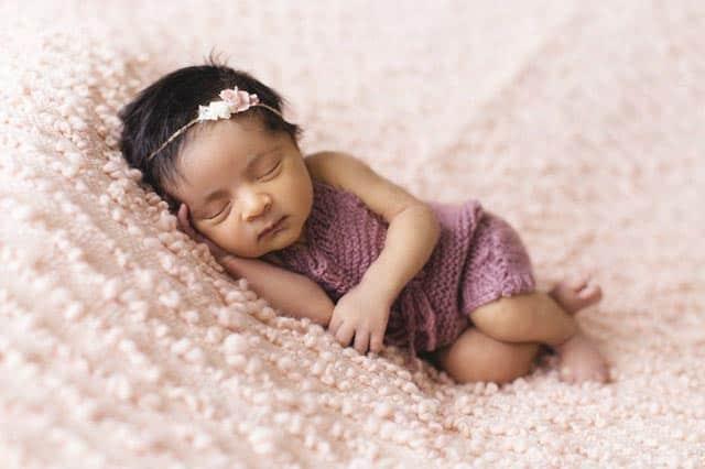 Sesión de fotos a recién nacido