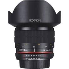 Lente Rokinon FE14M-C  14mm F2.8