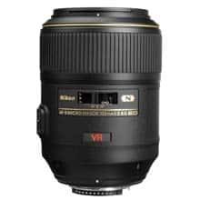 lente de cámara nikon